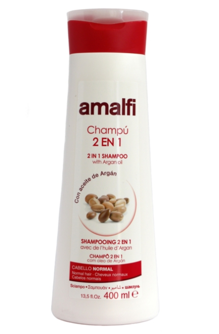Amalfi sampon 400ml 2in1 argán olaj